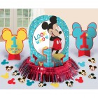 Mickey Mouse Fun to Be One 1st Birthday Table Decorating Kit