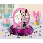 Minnie Mouse Fun to Be One 1st Birthday Table Decorating Kit