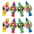 Super Mario Bros. Cardboard Blowouts Pack of 8