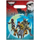 Star Wars Rebels Plastic Loot Bags Pack of 8