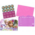 Frozen Party Invitations & Envelopes Pack of 8