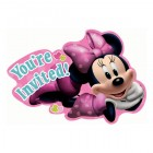 Minnie Mouse You're Invited Invitations Pack of 8
