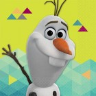Frozen Olaf 2 Ply Beverage Napkins Pack of 16