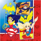 DC Superhero Girls 2 Ply Luncheon Napkins Pack of 16