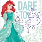 The Little Mermaid Ariel 2 Ply Luncheon Napkins Pack of 16