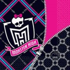 Monster High 2 Ply Luncheon Napkins Pack of 16