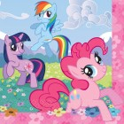 My Little Pony 2 Ply Lunch Napkins Pack of 16