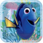 Finding Dory Square Paper Luncheon Plates 18cm Pack of 8