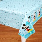 Mickey Mouse Fun to Be One 1st Birthday Plastic Tablecover