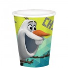 Frozen Olaf Chillin' Paper Cups 266ml Pack of 8