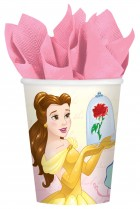Beauty and the Beast Paper Cups 266ml Pack of 8