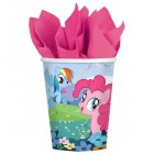 My Little Pony Paper Cups 266ml Pack of 8