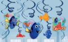 Finding Dory Hanging Swirl Decorations Value Pack of 12