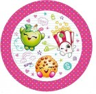 Shopkins Luncheon Paper Plates Pack of 8