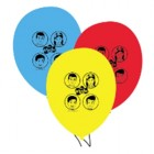 The Wiggles Latex Balloons Pack of 6