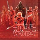 Star Wars Episode VIII The Last Jedi Lunch Napkins Pack of 16