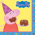 Peppa Pig Lunch Napkins Pack of 16