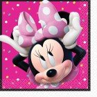 Minnie Mouse Happy Helpers Lunch Napkins Pack of 16
