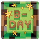 Minecraft Paper Plates Pack of 8