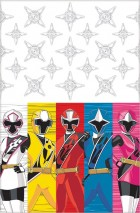 Power Rangers Ninja Steel Tablecover