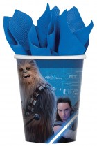 Star Wars Episode VIII The Last Jedi Paper Cups Pack of 8