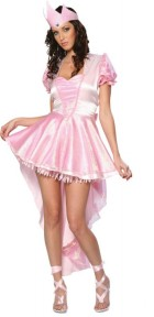 Glinda Ballerina Witch Adult Wizard of Oz Costume Women's Fancy Dress