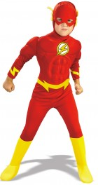 DC Comics The Flash Muscle Chest Deluxe Toddler / Child Costume