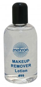 Mehron Makeup Remover Lotion 4.5oz Cleansing Face Body Makeup Costume Accessory