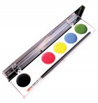 Mehron WaterWorks Palette Water Color Face Body Painting Makeup Costume Accessory