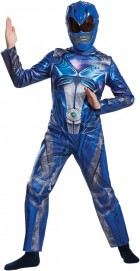 Power Rangers Blue Ranger Classic Child Costume 10-12