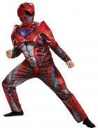 Power Rangers 2017 Red Ranger Muscle Adult Costume