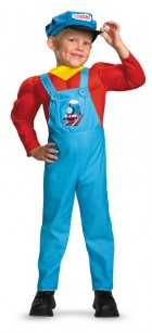 Thomas the Tank Engine Muscle Chest Child Costume