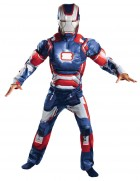 Iron Man 3 Iron Patriot Lightup Muscle Chest Boys Costume