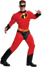 The Incredibles Mr. Incredible Muscle Adult Costume