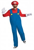 Super Mario Bros Mario Deluxe Adult Costume