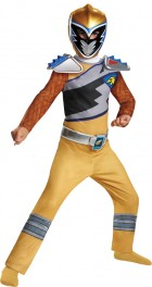 Power Rangers Gold Ranger Dino Charge Classic Child Costume Small