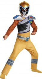 Power Rangers Dino Gold Ranger Classic Child Costume 7-8