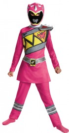Power Rangers Pink Ranger Dino Charge Classic Child Costume