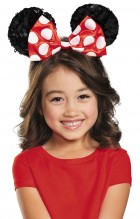 Red Minnie Sequin Child Ears