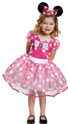 Minnie Mouse Pink Minnie Tutu Deluxe Toddler / Child Costume