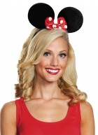 Minnie Mouse Ears Deluxe Adult