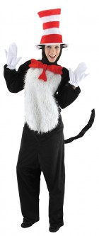 The Cat in the Hat Adult Costume S/M