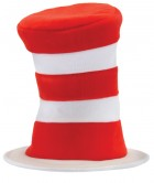 Dr. Seuss Cat in the Hat - Deluxe Adult Costume Striped Hat