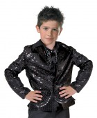 Disco Jacket Child Black