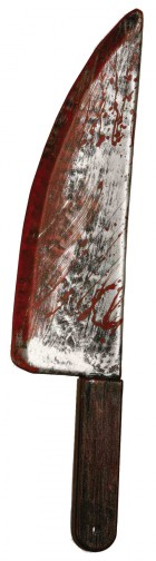 Bloody Weapon Knife Prop
