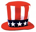 Uncle Sam Foam Hat Men's 4th of July Costume Prop