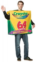 Crayola 64 Box Tunic Adult Costume