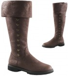 Gotham Brown Steampunk Adult Costume Boots