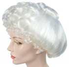 Mrs. Claus Gibson White Adult Wig