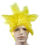 Bart Yellow Adult Wig